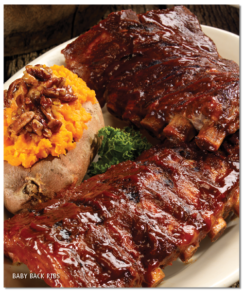 Dakota's Baby Back Ribs